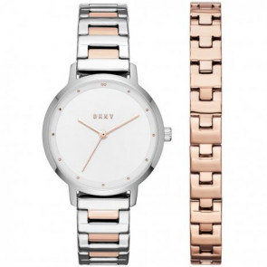 Bracelet de montre DKNY NY2643 Acier Bicolore 14mm