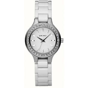 Bracelet de montre DKNY NY4982 Céramique Blanc