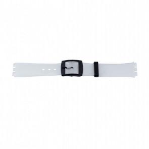 Other brand bracelet de montre P51.14 Plastique Transparant 17mm