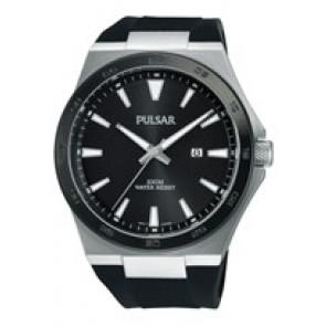 Bracelet de montre Pulsar PH9081X1 / PC32 X087 / PHG048X Caoutchouc Noir