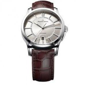 Bracelet de montre Maurice Lacroix PT6148-SS001-130 / ML550-005 Peau de crocodile Brun 20mm