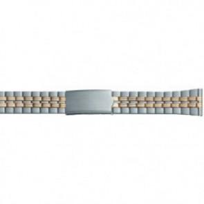 Bracelet de montre Métal Acier 20mm PVK-DD100