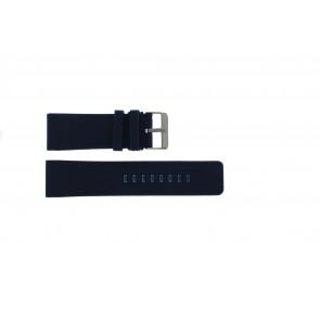 Bracelet de montre Universel SBR11A.26.5 Silicone Bleu 26mm