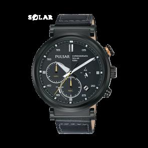 Bracelet de montre Pulsar PZ5071X1 Cuir Noir 22mm