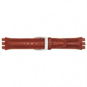 Bracelet de montre Universel 247.07M Cuir Rouge 19mm