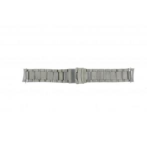 Bracelet de montre QQ22RHZIL Métal Argent 22mm