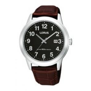 Bracelet de montre Lorus PC32-X019-RH927BX9 Cuir Brun 20mm