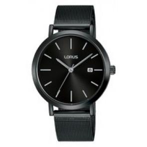 Bracelet de montre Lorus PC32-X144 / RH943JX9 Acier Noir