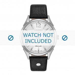 Roamer bracelet de montre 550660-41-25-05 Cuir Noir 18mm