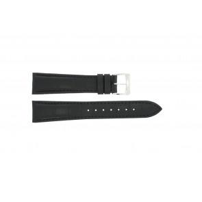 Bracelet de montre Raymond Weil SI1501-BSB-C-2 Peau de crocodile Noir 15mm