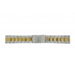 Bracelet de montre WoW 1014-20-BI Acier Bicolore 20mm