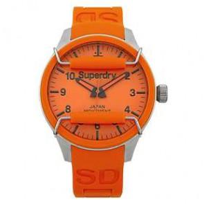 Bracelet de montre Superdry SYG109OG Silicone Orange