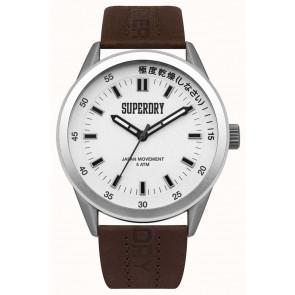 Bracelet de montre Superdry SYG207TS / 222793 Cuir Brun