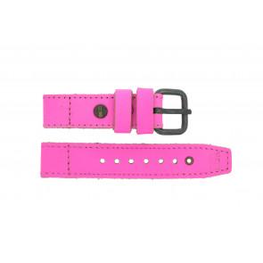 Bracelet de montre Superdry SYL115P Cuir Rose 20mm