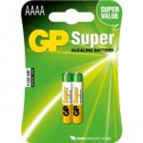 GP Pile/batterie Super Alkaline AAAA - 1.5v