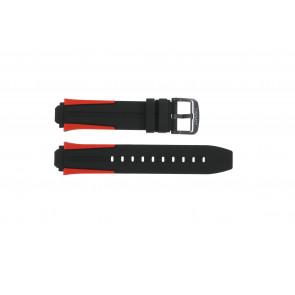 Bracelet de montre Tissot T1114173744101A / T603040970 Silicone Multicolore