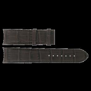 Bracelet de montre Tissot T610028569 Cuir Brun