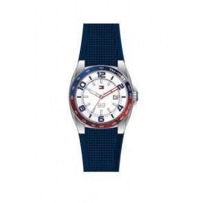 Bracelet de montre Tommy Hilfiger TH1790885 Caoutchouc Bleu