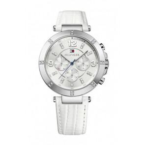 Bracelet de montre Tommy Hilfiger TH-246-3-14-1852S Cuir Blanc