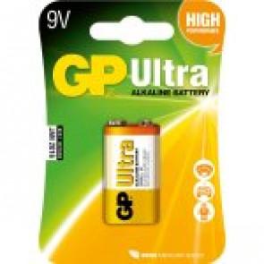 GP Pile/batterie Ultra Alkaline 6LR61 - 9v