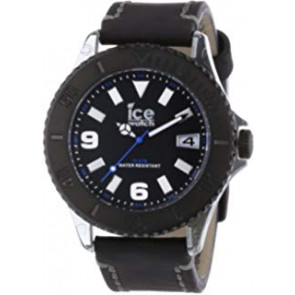 Bracelet de montre Ice Watch VTBKB.B.L.13 / VTBK.BB.L.13 Cuir Noir 22mm