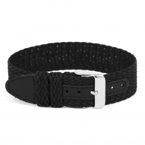 Bracelet de montre Universel WC26 Nylon Noir 12mm