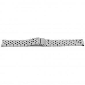 Bracelet de montre YJ27 Métal Argent 26mm