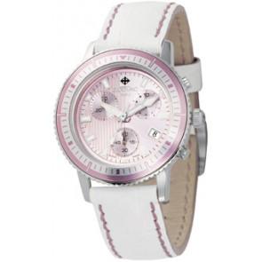 Bracelet de montre Zodiac ZO2810 Cuir Blanc