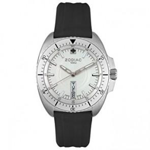 Zodiac bracelet de montre ZO5500 Caoutchouc Noir