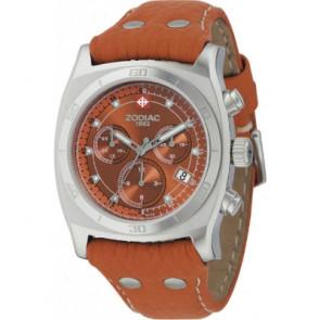 Bracelet de montre Zodiac ZO7010 Cuir Brun clair