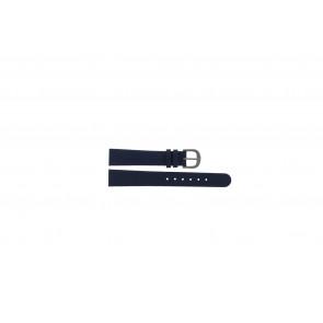 Danish Design bracelet de montre ADDBE14 Cuir Bleu 14mm