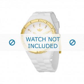 Adidas bracelet de montre ADH2026 Silicone Blanc 22mm