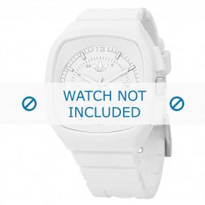Adidas bracelet de montre ADH2036 Silicone Blanc 22mm