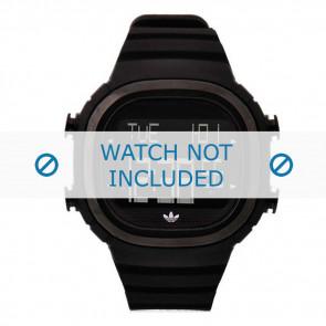 Adidas bracelet de montre ADH2045 Silicone Noir 24mm