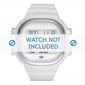 Adidas bracelet de montre ADH2120 Plastique Blanc 24mm