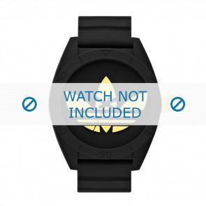Adidas bracelet de montre ADH2712 Silicone Noir 24mm