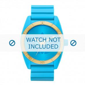 Adidas bracelet de montre ADH2801 Silicone Bleu 22mm