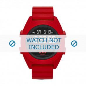 Adidas bracelet de montre ADH2909 Silicone Rouge 24mm