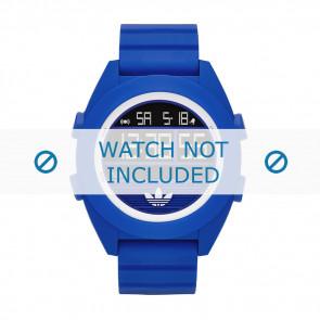 Adidas bracelet de montre ADH2910 Silicone Bleu 24mm