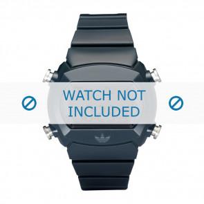 Adidas bracelet de montre ADH6065 Silicone Bleu 22mm