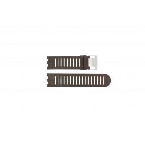 Alessi bracelet de montre AL14001 Cuir Brun 25mm