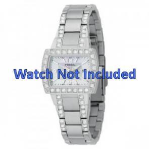 Fossil bracelet de montre AM-4131 Métal Argent 8mm
