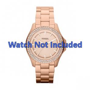 Bracelet de montre Fossil AM4454 Acier Rosé 18mm