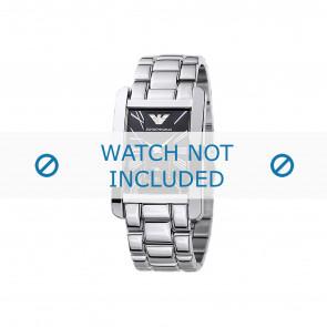 Armani bracelet de montre AR0156 Métal Argent