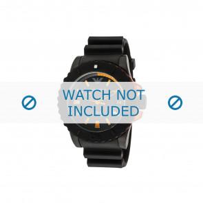 Armani bracelet de montre AR5969 Caoutchouc Noir 22mm