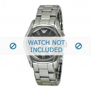 Armani bracelet de montre AR1465 Céramique Gris 22mm