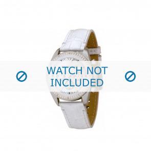 Armani bracelet de montre AR-5664 Cuir Blanc 20mm