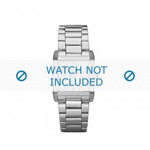 Armani bracelet de montre AR-5704 Métal Argent 16mm