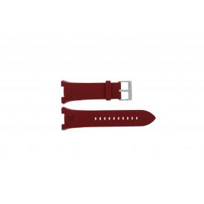Armani bracelet de montre AX-1040 Silicone Rouge 14mm