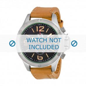 Armani bracelet de montre AX-1516 Cuir Brun 22mm
